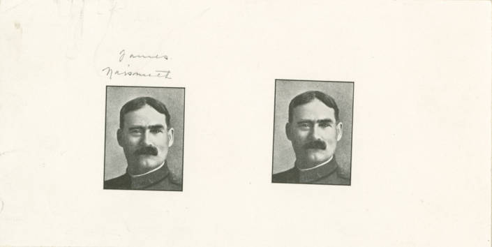 Two photographs of Dr. James Naismith